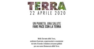 Earth Day 2020 – Fare pace con la Terra