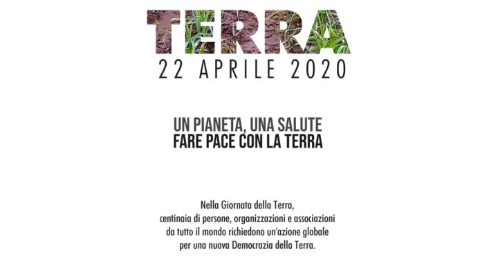 Earth Day 2020 – Fare pace con la Terra