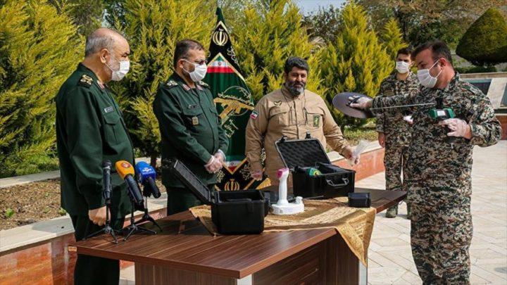 Irán desvela sistema para detectar COVID-19 en radio de 100 metros