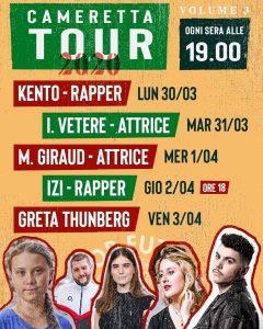 Greta Thunberg ospite del Cameretta Tour di Fridays for Future Italia