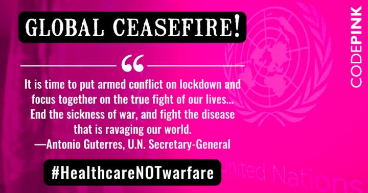UN Ceasefire Defines War As a Non-Essential Activity