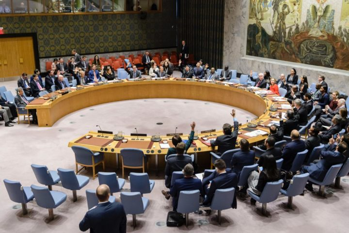 China y Francia apoyan la resolución de alto al fuego de la ONU. La esperanza de paz yace en los Estados Unidos