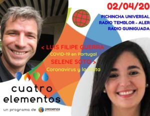 Cuatro Elementos del 02/04/2020 La Trata y Portugal