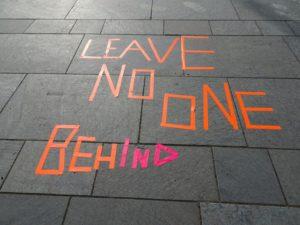 LeaveNoOneBehind: Trotz Ausgangsbeschränkung: Bewegung!
