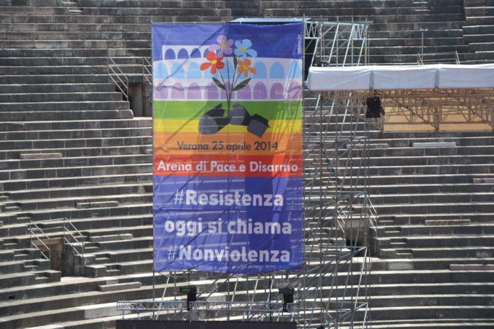 25 aprile … La liberazione oggi si chiama disarmo. La Resistenza oggi si chiama nonviolenza
