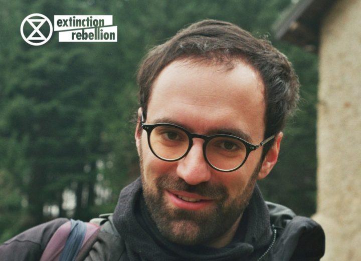 Coronavirus, l'attivismo non si è fermato – 3. Davide Scotti di Extinction Rebellion Milano