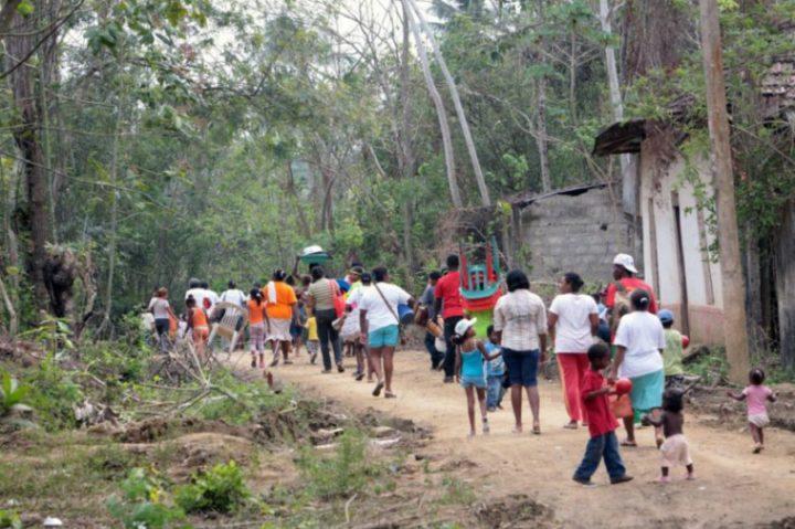 Colombia: familias del Cauca son desplazadas en medio de la pandemia