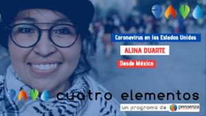 """Alina Duarte """"imagínate si el mundo se entera que el corazón de la bestia es un hervidero de movimientos sociales"""""""