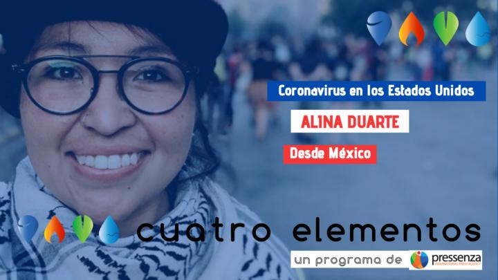 """Alina Duarte """"Immagina se il mondo capisse che il cuore della bestia è un focolaio di movimenti sociali"""""""