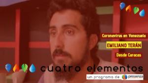 """Emiliano Terán """"debemos sortear el conflicto interno en Venezuela para tomar medidas conjuntas"""""""