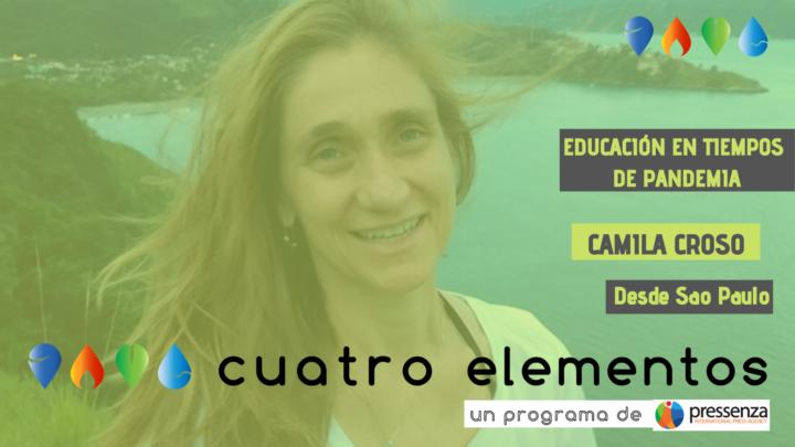 Camila Croso de la CLADE y la educación en tiempo de pandemia