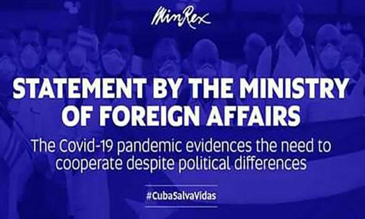 Κούβα: η πανδημία αναδεικνύει την ανάγκη συνεργασίας παραμερίζοντας τις πολιτικές διαφορές