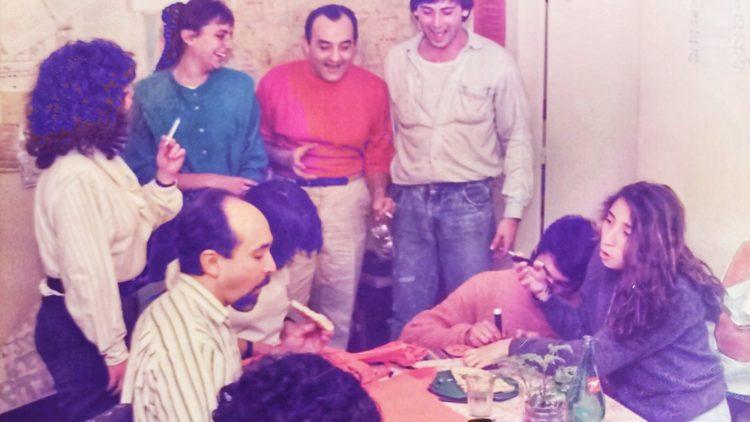 Alejandro Roger en 1988