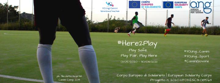 Here2Play: il ripopolamento e l'inclusione sociale passano anche dalla ripresa del gioco e delle attività sportive