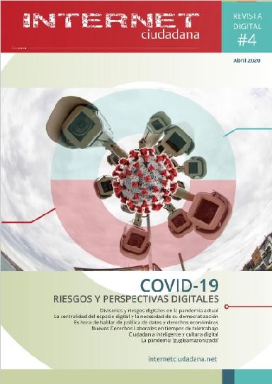 «COVID-19. Riesgos y perspectivas digitales», nuevo número de Internet Ciudadana