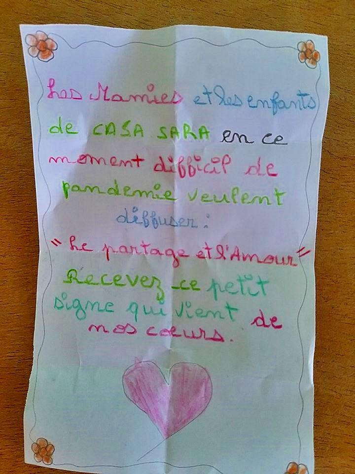 Letterina di un bambino