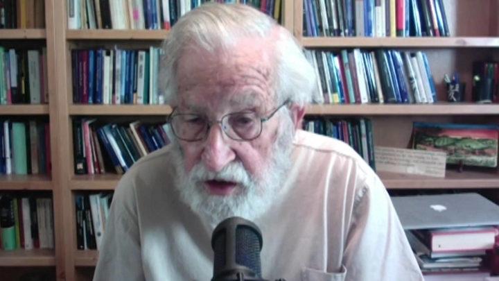 Noam Chomsky on Trump's Disastrous Coronavirus Response, Bernie Sanders & What Gives Him Hope