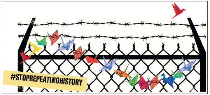 Japanisch-amerikanische Aktivisten fordern die Freilassung aller Immigranten wegen Covid-19