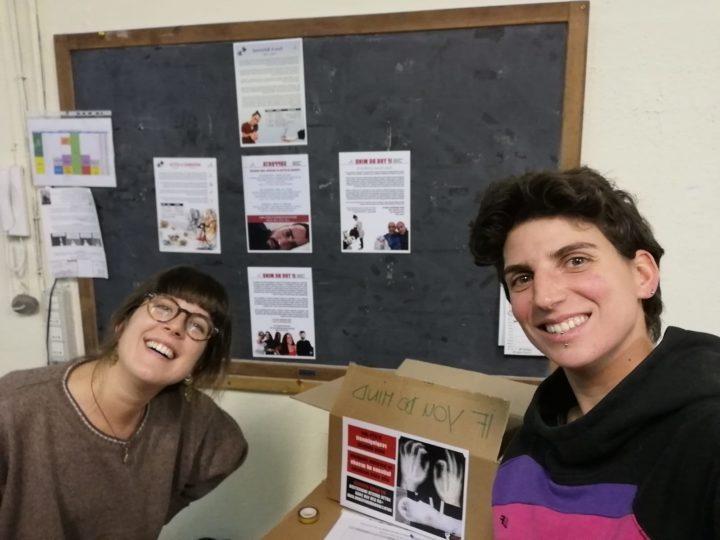 Coronavirus, l'attivismo non si è fermato –15. Matilda Zacco e Valentina Angotti di No Name Kitchen