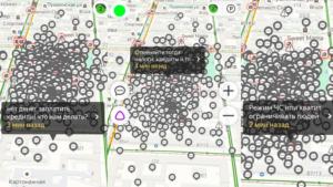 Rusos lanzan protestas virtuales masivas usando la aplicación sat nav