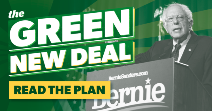 """Dopo il ritiro della candidatura di Sanders, gli attivisti per il clima lo ringraziano per aver """"alzato il tiro"""" e invitano Biden a """"fare un passo avanti"""""""