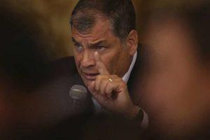 Kritik am Urteil gegen Rafael Correa in Lateinamerika