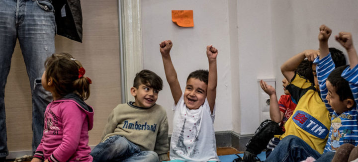 Greece: COVID-19 pandemic a further risk to refugee child education, warns UN partner