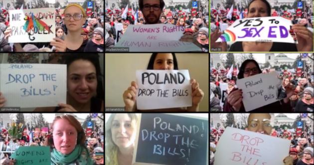 Aborto ed educazione sessuale, le proteste spingono il Parlamento polacco a fare marcia indietro