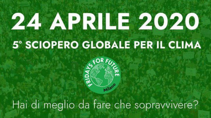Due crisi, una soluzione. Appello di Fridays for Future Italia