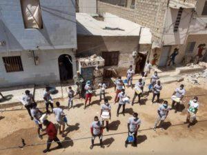 """Senegal ve Gambiya'da """"Koronavirüs'ü Durdur"""" kampanyası"""