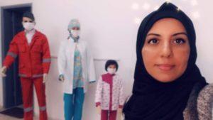 Gaza: lei si chiama Soad e produce mascherine