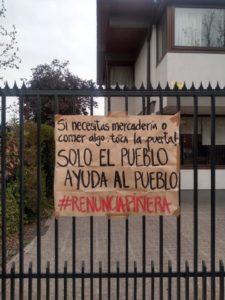La gente pobre en Chile está pasando hambre