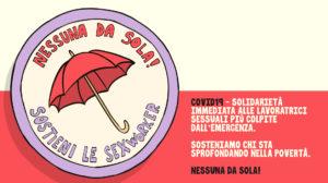 Campagna di solidarietà alle lavoratrici sessuali più colpite dall'emergenza