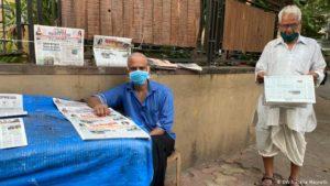 Schwere Zeiten für indische Zeitungen