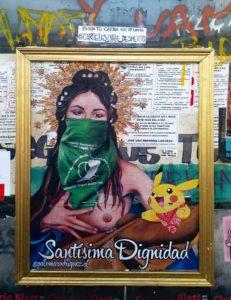 Grafiteros y artistas del despertar social en Chile: Paloma Rodríguez