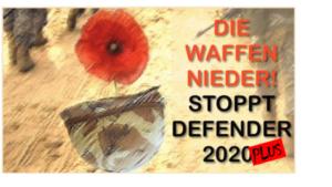Die US-Militärmaschine in Europa nimmt wieder Fahrt auf: 'Atlantic Resolve' und 'Defender Europe 2020 plus' sofort stoppen!