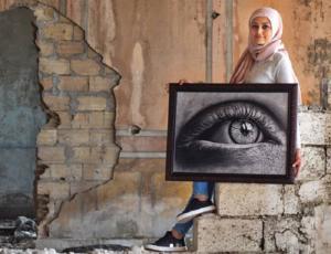 Entrevista a la artista libanesa en protesta Batool Jacob