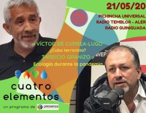 Cuatro Elementos del 21/05/2020 Declaración de Cuba como aliado de terroristas y el Medio Ambiente en tiempos de pandemia