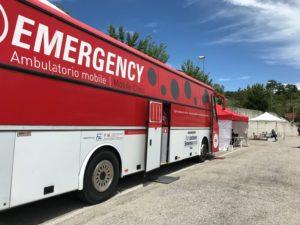Emergency attiva nelle Marche un polibus per il supporto psicologico covid