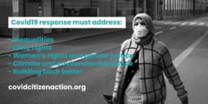 Διεθνής αλληλεγγύη για τον Covid -19