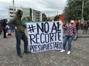 Corte Constitucional del Ecuador emite medidas cautelares que frenan la decisión ejecutiva de reducir el presupuesto para la educación pública superior