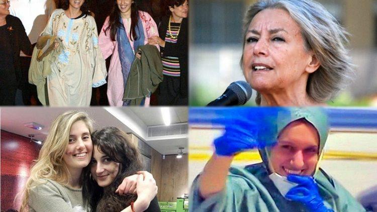 Simona Torretta e Simona Romano, Giuliana Sgrena, Vanessa Marzullo e Greta Ramelli, Silvia Romano