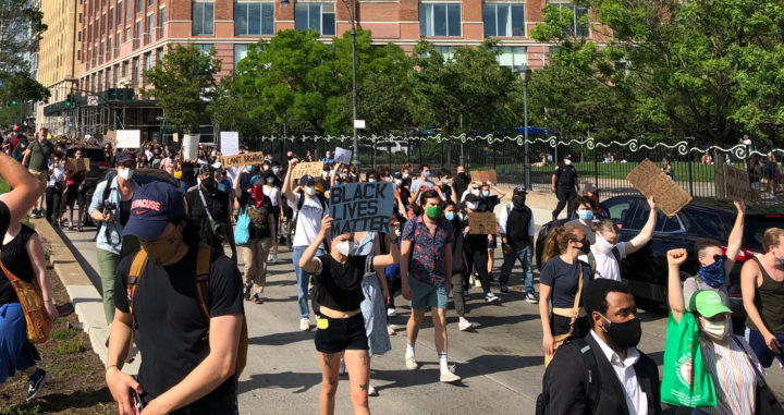 Kundgebung in NYC: Gerechtigkeit für George