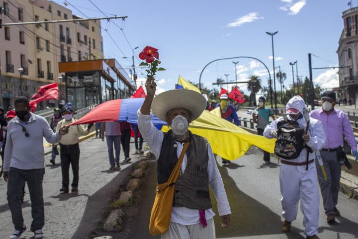 Reclamo popular frente a injusticias en Ecuador