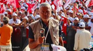 Censura per Mariano Giustino: Facebook oscura la pagina del corrispondente italiano in Turchia