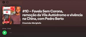 Podcast Cineclube Marighella #10. Favela Sem Corona