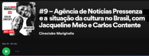 Podcast do Cineclube Marighella