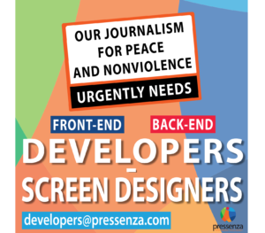 We Need Web Developers to Support Our Peace and Nonviolence Journalism