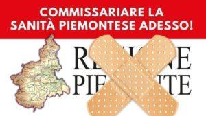 Adesione all'iniziativa per il Commissariamento della sanità piemontese