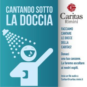 """""""Sotto la doccia"""", Caritas cerca canzoni per playlist"""